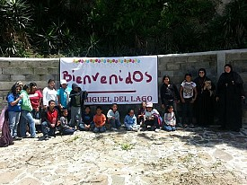 Some of the Madres and Children at San Miguel del Lago