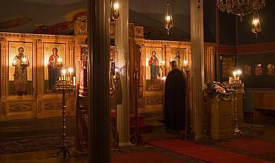 Iconostasis, Main Chapel, St Gregory Palamas Monastery