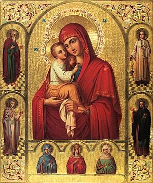 Pochaev Icon of the Theotokos, Sept 8