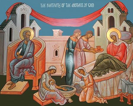 Nativity of the Theotokos, Sept 8
