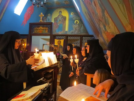 Transfiguration Monastery Choir, 2015